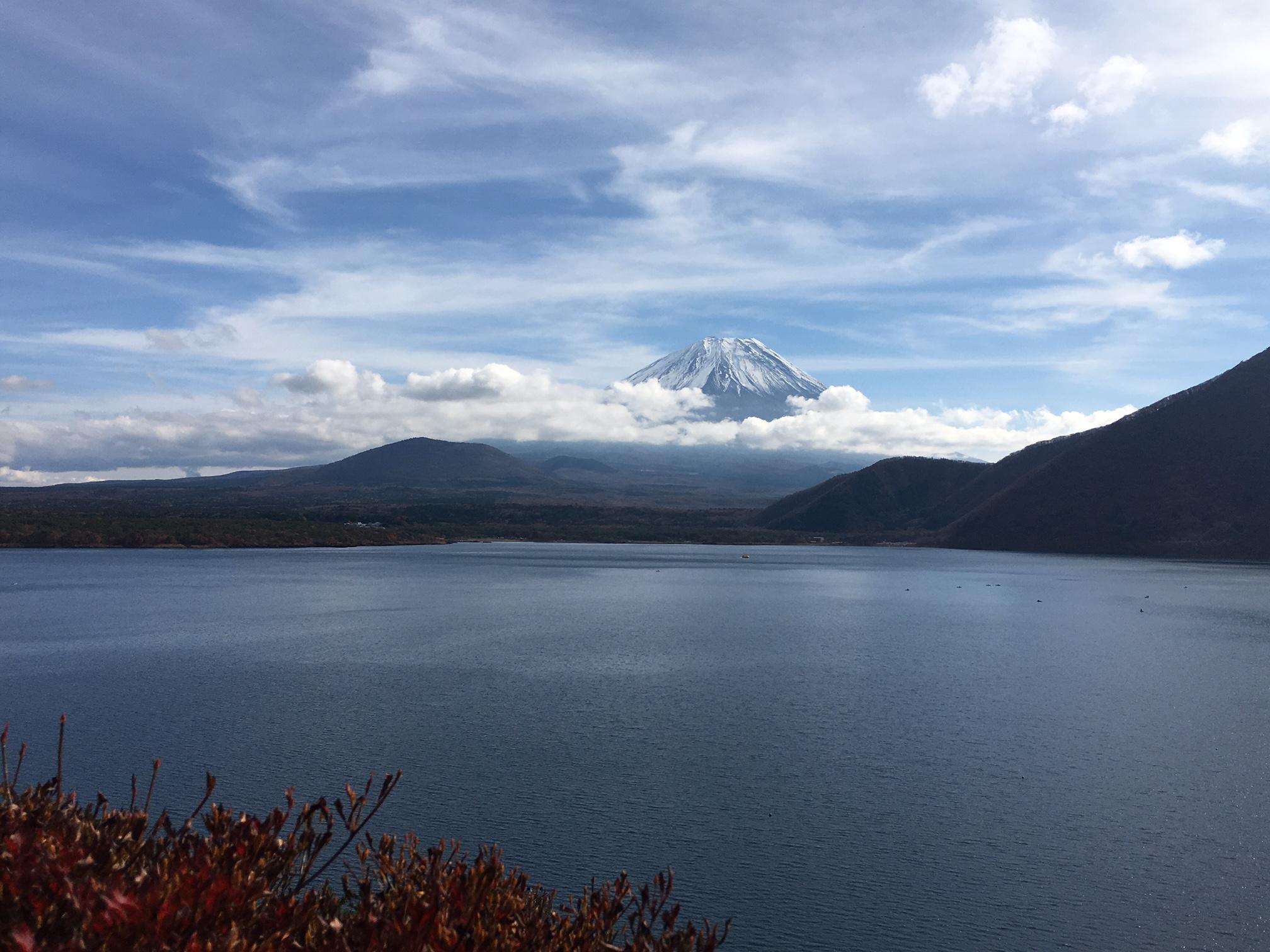 富士山‐本栖湖