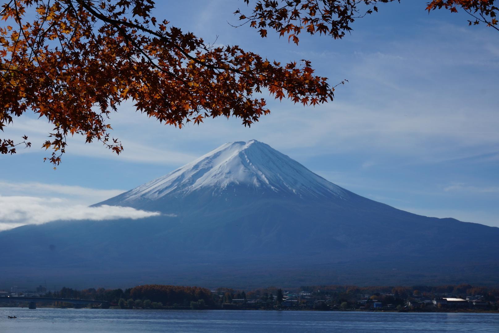 富士山‐紅葉
