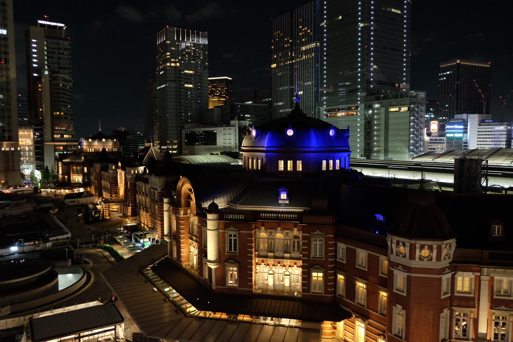 東京駅‗ライトアップ