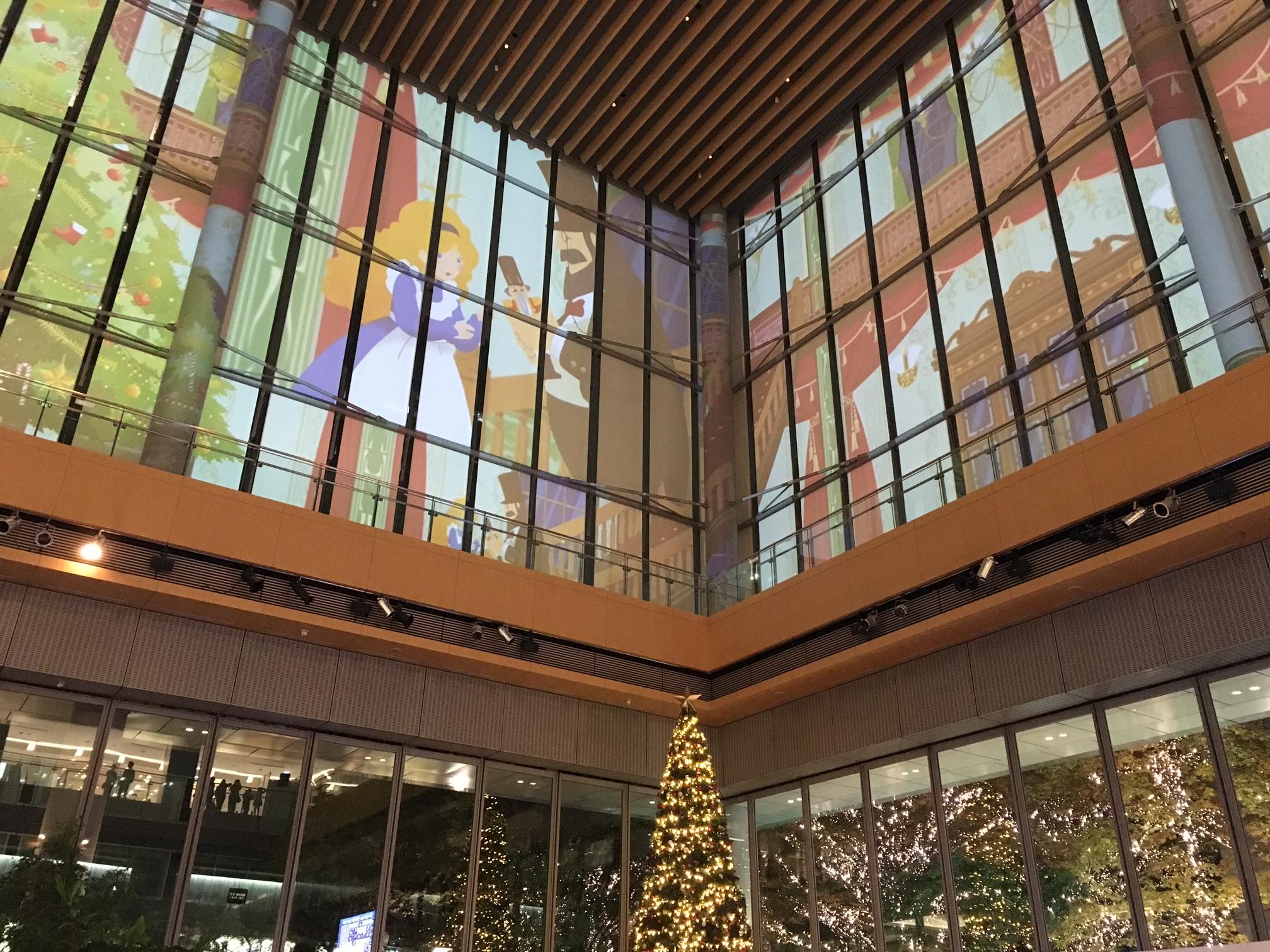東京丸の内‗丸ビル‗クリスマス‗プロジェクションマッピング