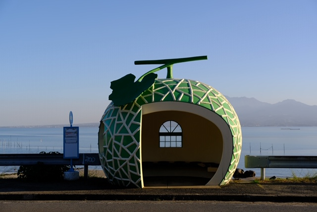 佐賀県:フルーツバス停