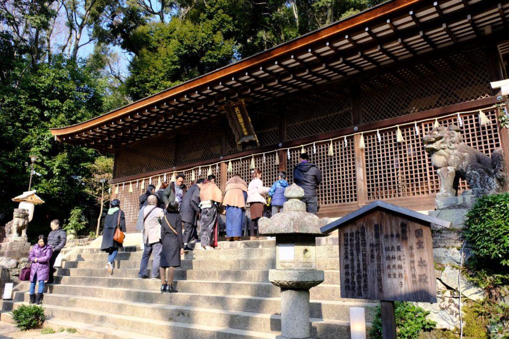 日本最古の神社建築「宇治上神社」