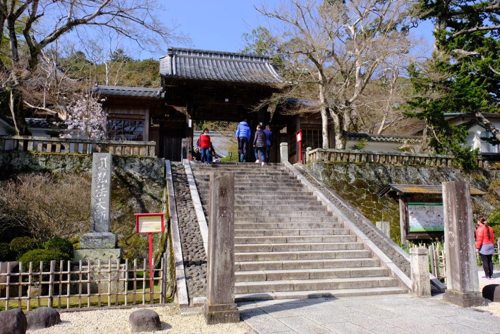 修禅寺の山門