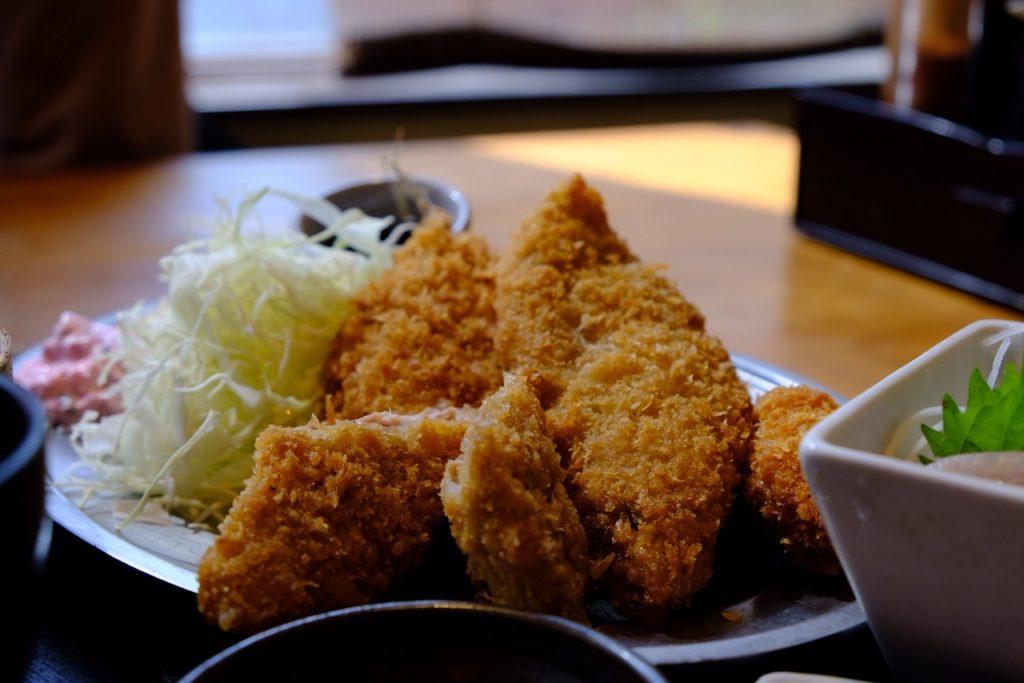 炭火RoBATa酒場OHASHI(おはし)アジのフライ定食