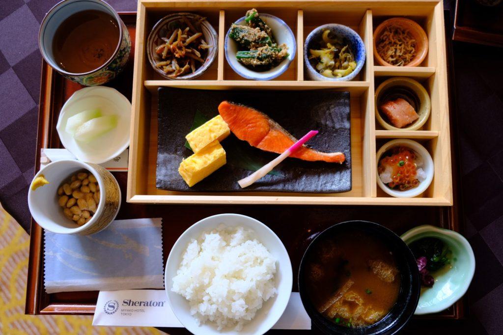 シェラトン都ホテル東京_和定食