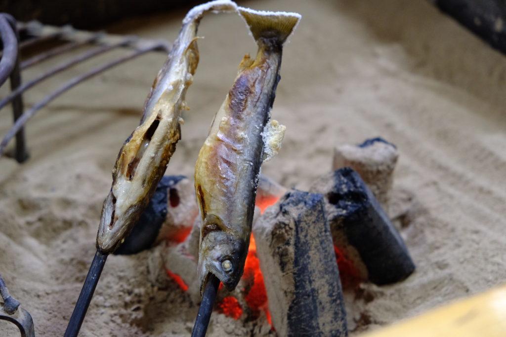 小鹿荘囲炉裏